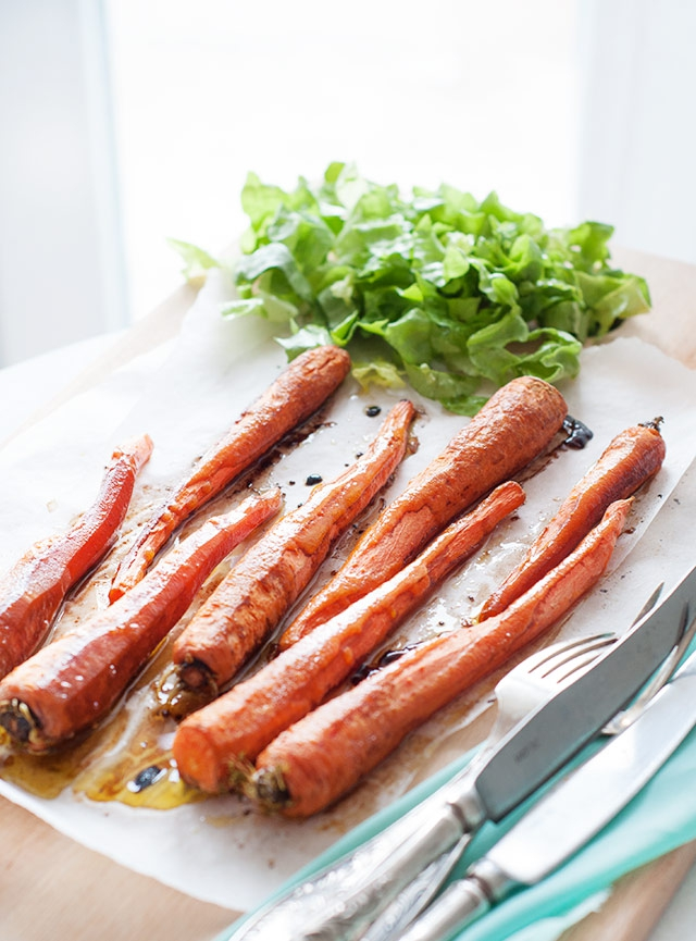 гланцирани моркови