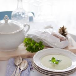 крем супа от броколи и карфиол