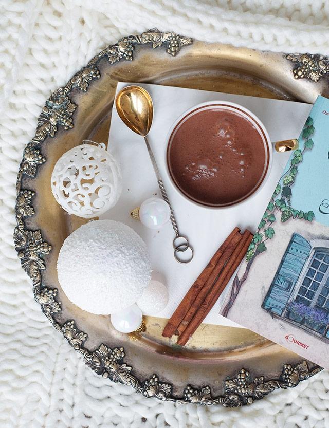 ароматите на зимата - топъл шоколад