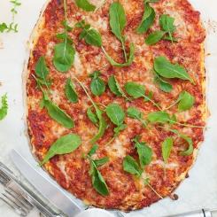 пица с блат от карфиол